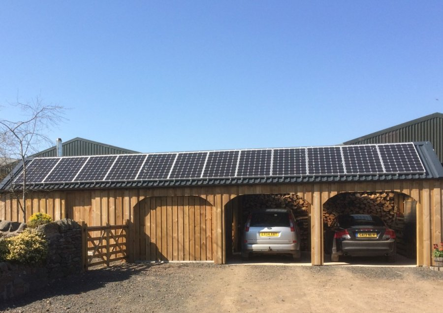 Solar PV & Biomass, solutions which compliment in Scottish Borders