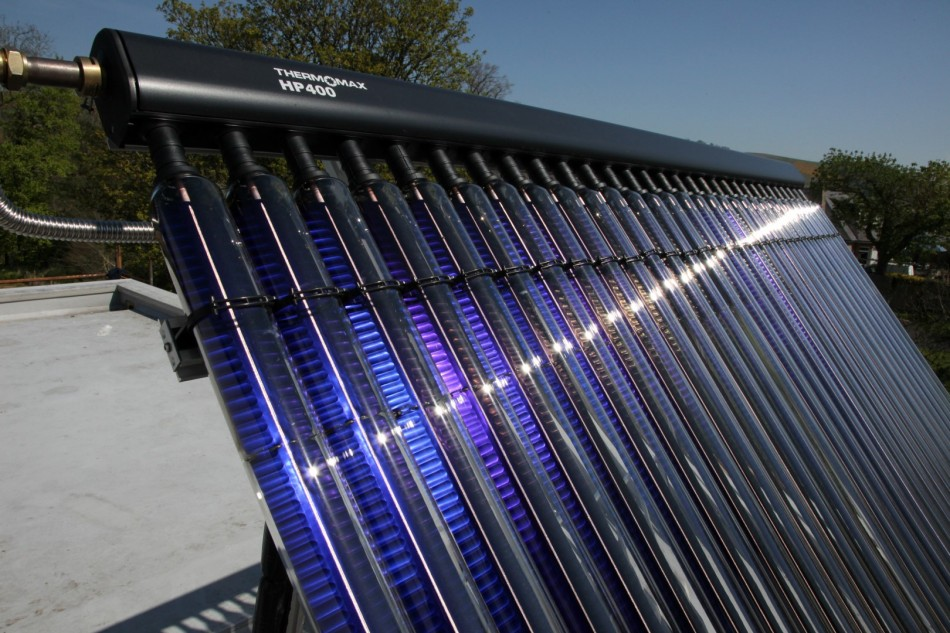Solar Thermal installation in Scottish Borders